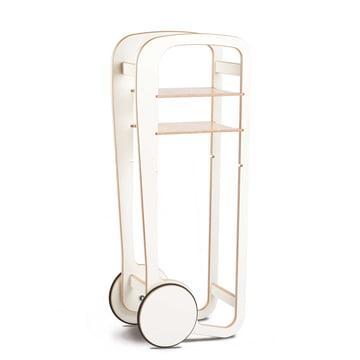 Fleimio Design - Wood Trolley, weiß