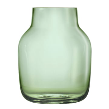 Silent Vase groß von Muuto in Grün