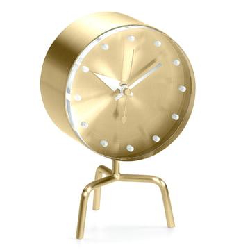 Vitra - Tripod Clock aus Messing