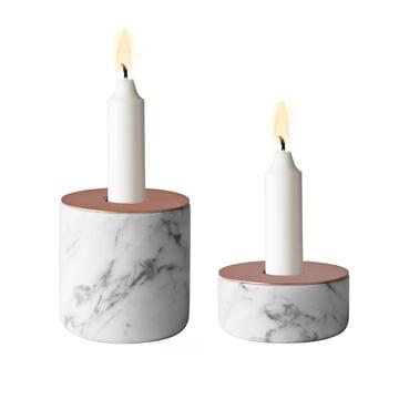 Menu - Chunk of Marble, beide Grüßen - mit Kerzen