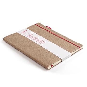 Holtz - sense Book Red Rubber, large - schräg