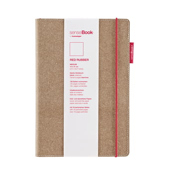 Holtz - sense Book Red Rubber, medium