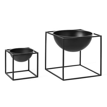 by Lassen - Kubus Bowl, klein, groß, schwarz