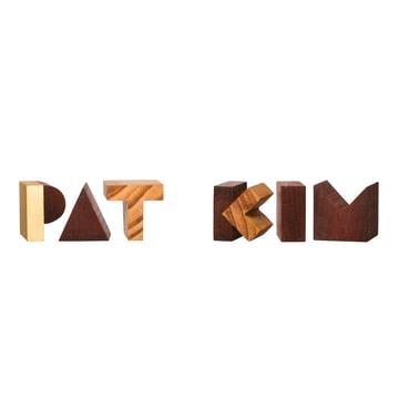 Areaware - Alphabet Blocks - Beispiel, Pat Kim