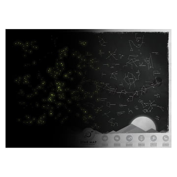 Luckies - Star Map - hell und dunkel