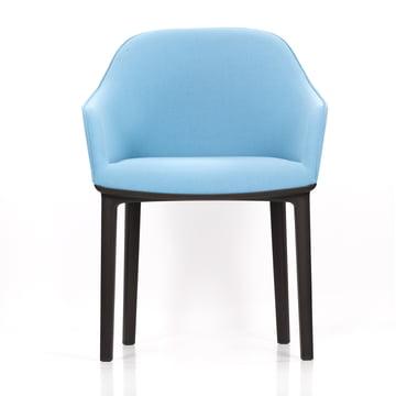 Vitra - Softshell Chair, plano, eisgrau frontal