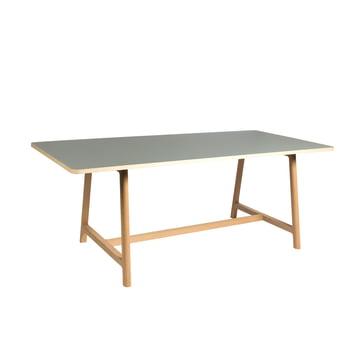 Hay - Frame Table, Tisch, Esche / grau