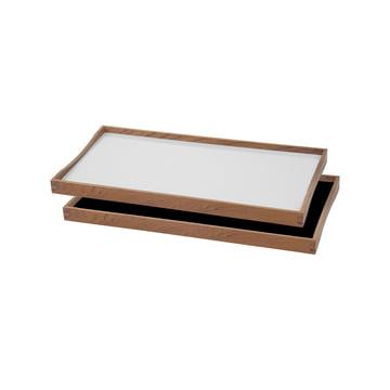 ArchitectMade - Tablett Turning Tray, 23 x 45, weiß