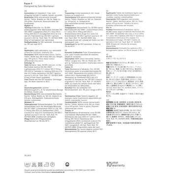 Kvadrat - Stoffkarte Pause 4 - Beschreibung