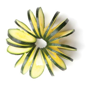 Monkey Business - Cucumbo Gemüseschneider - Zucchini geschnitten