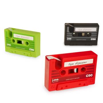 j-me - cassette tape Klebeband-Abroller - Gruppe, Farben