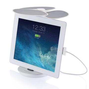 XD Design - Ginkgo Solar-Ladestation - mit iPad
