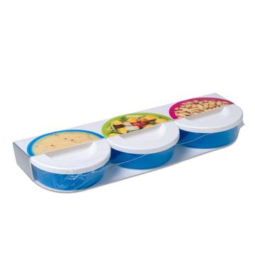 Rosti Mepal - To Go Mini Box 3 tlg., aqua