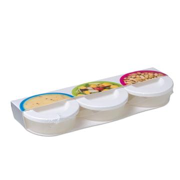 Rosti Mepal - To Go Mini Box 3 tlg., weiß