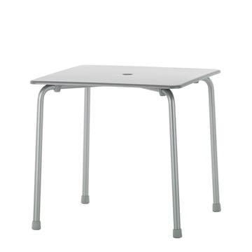 Vitra - Davy Tisch, Aluminium matteloxiert 75 x 75 cm