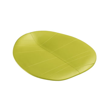 Arper - Sitzpolster 43 x 43 für Leaf Stuhl, grün