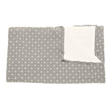 Folding A-Part Wolldecke von Mika Barr in Grau