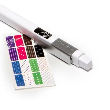 Moleskine - Classic Druckbleistift, weiß - Sticker