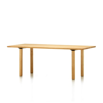 Vitra - Wood Table, 200 x 90 cm, Eiche natur massiv