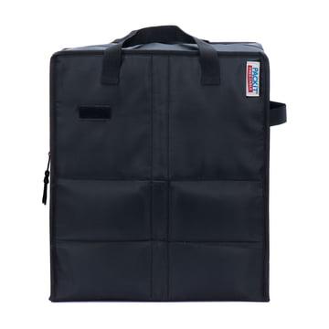PackIt - Einkaufs-Kühltasche, schwarz - Vorderseite