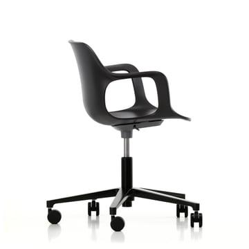 Hal Studio Bürodrehstuhl von Vitra in schwarz