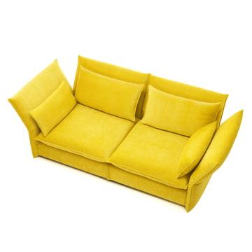 Mariposa Sofa von Vitra in Gelb
