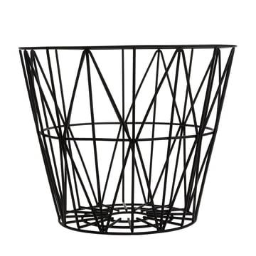 Wire Basket Medium von ferm Living in Schwarz