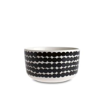 Oiva Räsymatto Schale 500 ml von Marimekko in Weiß / Schwarz