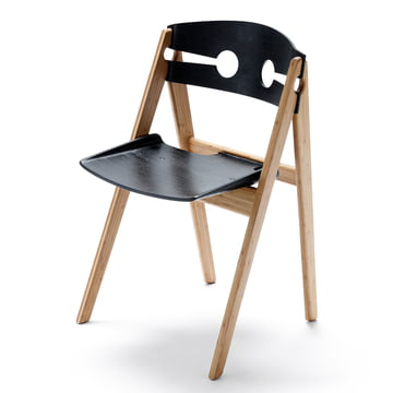 We do wood - Dining Chair no. 1, schwarz