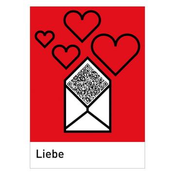 siebensachen - QReetings Postkarten-Set, Liebe