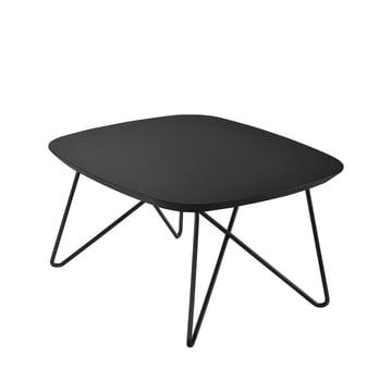 Zanotta - Ink Beistelltisch, 60 x 60 cm, schwarz