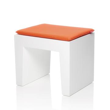 Fatboy - Concrete Seat, weiß, Kissen mandarin-orange