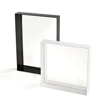 Kartell - Only Me Spiegel, schwarz 50 x 70 cm, weiß 50 x 50 cm
