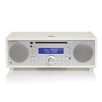 Tivoli Audio - Music System+, weiß / silber lackiert