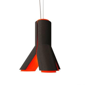 Dark - Boky Pendelleuchte, schwarz / rot