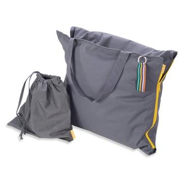Hhooboz - Sitztasche, 150 x 62 cm, grau