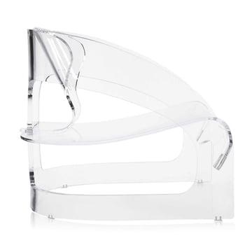 Kartell - Joe Colombo Sessel, transparent - Seite