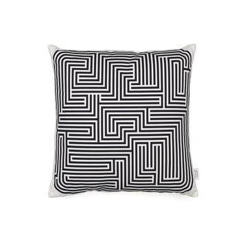 Kissen Maze von Vitra in schwarz 40x40