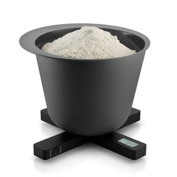 Eva Solo - Digitale Küchenwaage, schwarz, Mehl