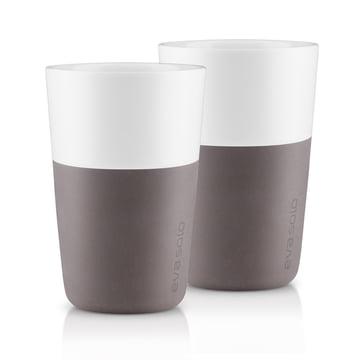 Caffé Latte-Becher (2er-Set) von Eva Solo in Grau