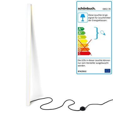Das kleine Modell der Frame Stablampe von Schönbuch