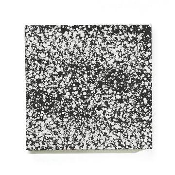 ferm Living - Splash Papierserviette, schwarz
