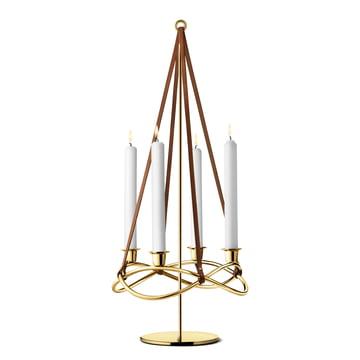 Season Kerzenhalter-Erweiterung vergoldet von Georg Jensen