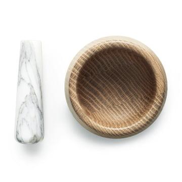Normann Copenhagen - Craft Mörser mit Stößel, weiß