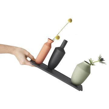 Muuto - Balance Vase (3 Vasen-Set), Block Colour, gekippt