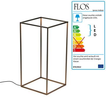 Flos - Ipnos Indoor Bodenleuchte, bronze anodisiert