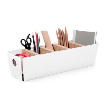 Konstantin Slawinski - Shuffle-Box Tischbox, weiß, Deko Office