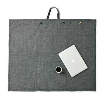 Menu - Picknick Decke 100 x 120 cm, dark grey