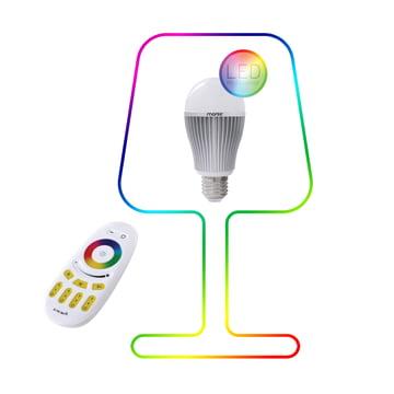 Moree - 9W RGBW Multicolor LED + Fernbedienung