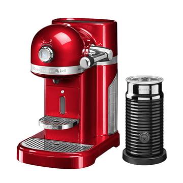KitchenAid - Artisan Nespresso inkl. Aeroccino 3, empire rot